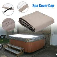 Dustproof Hot Tub Spa Cover Cap Dustproof Rain Covers Storage Bag Protective Guard Protector Cover Shade Organizer 4 Sizes