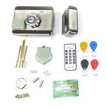 Электронная система контроля доступа интегрированная RFID с ID 38mA Reader Электрический один двойной головкой ворота 12 в двери 350mA замок 95