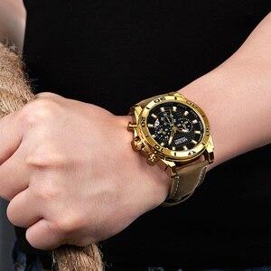Image 5 - Relojes 2020 MEGIR zegarek mężczyźni moda Sport zegar kwarcowy męskie zegarki Top marka luksusowy wodoodporny zegarek godzina Relogio Masculino