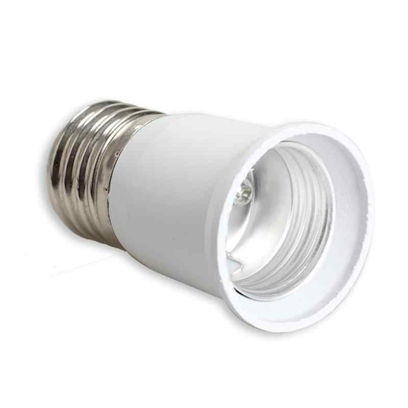 1pc LED Adapter E27 to E27 Extension Socket Base CLF LED Light Bulb Lamp Adapter Converter Plug Extender LED Light Use