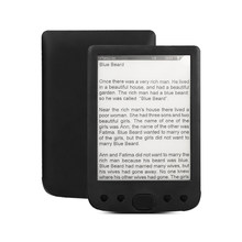6 Inch e-Book Reader E-Ink Screen 800*600 Resolution Glare-free with USB Cable PU Cover Built-in 8GB Memory Storage E-reader(China)