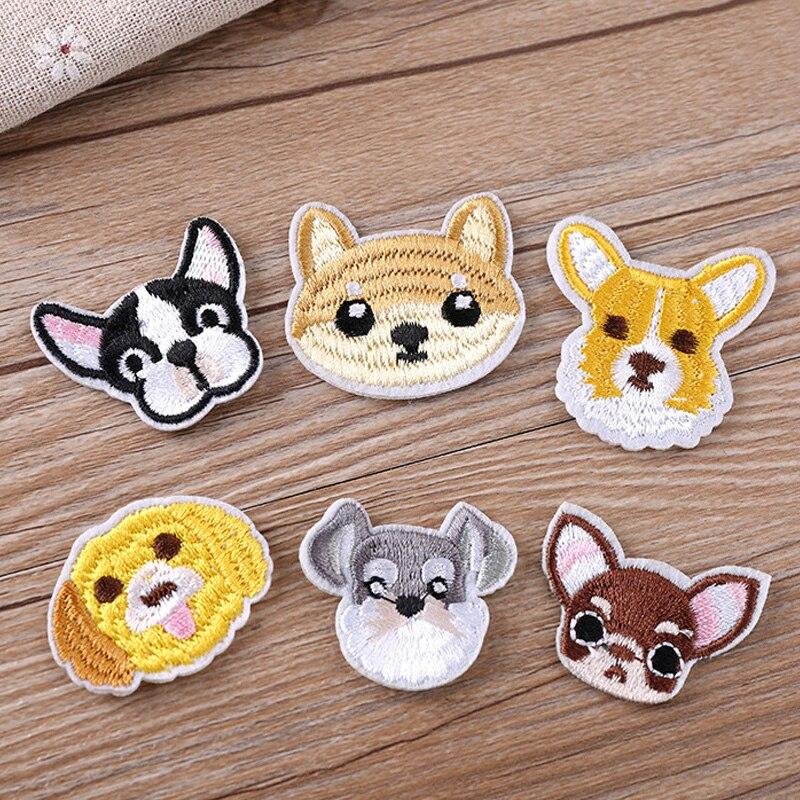 100% QualitäT Hund Patch Babys Kleidung Patches Rucksack Decor Bulldog 1 Pc Patch Schöne Schnauzer Cartoon Mode Nette Professionelles Design