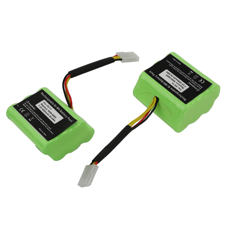 FFYY-2 x 7.2V Batterie Pour Neato XV-11 XV-12 XV-14 XV-15 XV-21 Signature Pro Robotique Vert