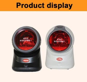 20 Line Automatic Omnidirectional Laser Barcode Scanner USB Bar Code Scanner Reader  Z-6050 for POS system supermarket