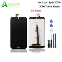 Alesser For Acer Liquid Z630 LCD Display And Touch Screen Tested Digitizer For Acer Liquid Z630 LCD Phone Accessories +Tools