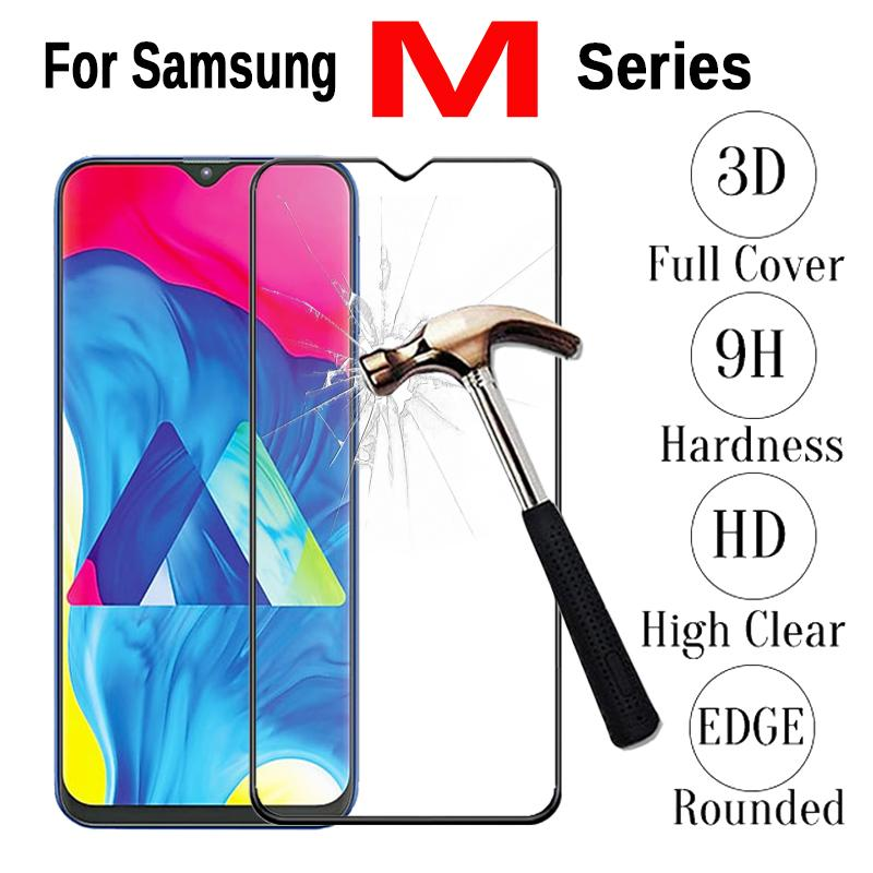 For Samsung A30 A50 J4 J6 plus A7 2018 M10 M20 J415F J610F A750 Case Tempered Glass For Samsung Galaxy A7 2018 Protective Film