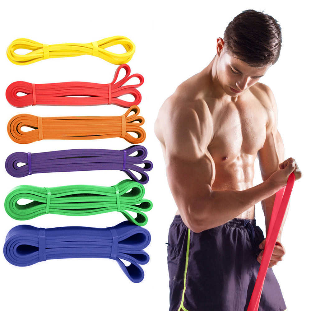 Resistance Loop Bands Elastic Band Equipment for Fitness Training Pull Rope Rubber Bands Sports Yoga Exercise Gym Expander P30
