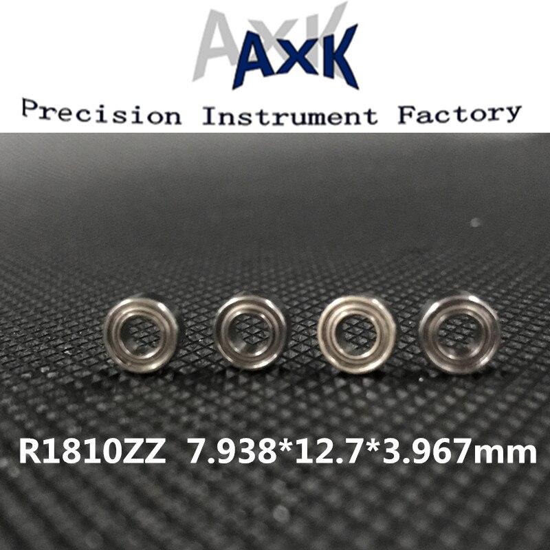 2019 Promotion Free Shipping 10pcs R18102z R1810 2z R1810zz Deep Groove Ball Bearing 7.938x12.7x3.967mm Inch Miniature Abec-3