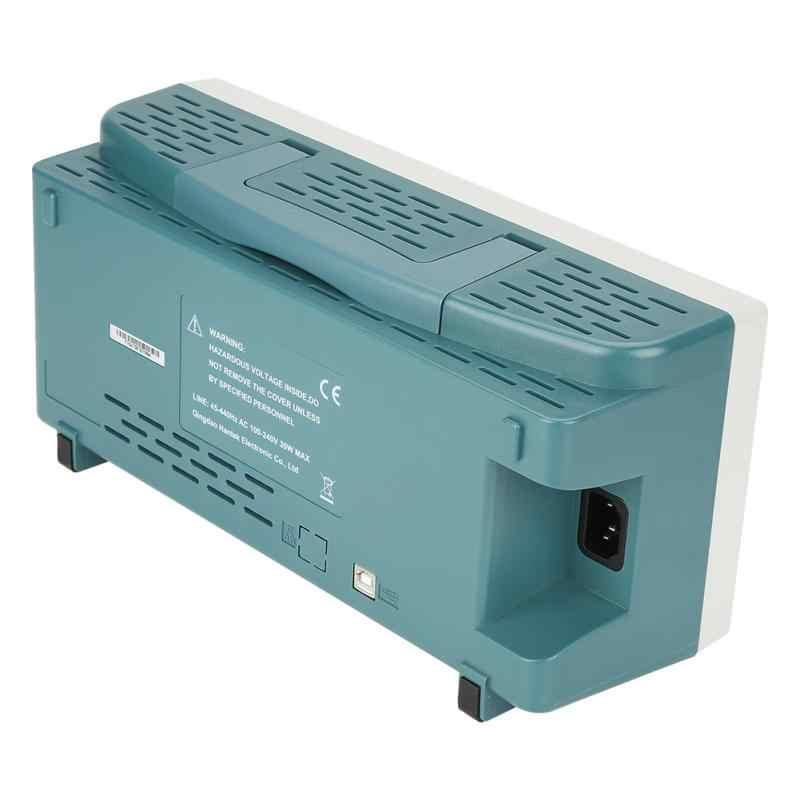 Hantek DSO5202P 2 canaux Oscilloscope Set 200 MHz 1GSa/s stockage numérique Oscilloscope EU plug AC110-240V