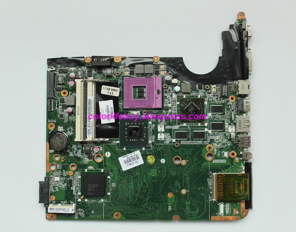 Натуральная 518431 001 аккумулятор большой емкости w HD4650/1 ГБ Графика Материнская плата ноутбука для hp DV6 1000 DV6T 1000 серии ноутбук ПК-in Материнская плата для ноутбука from Компьютер и офис