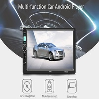 7 Inch HD Car Stereo 2 DIN Android Mirror Link Bluetooth Radio MP5 Player Universal GPS Navigation Multi Functional MP5 Player