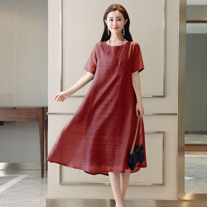 55e070da51a 2019-las-mujeres-de-verano-de-manga-corta-vestido-Casual-Plus-tama-o-vestido -Vintage-vestido.jpg