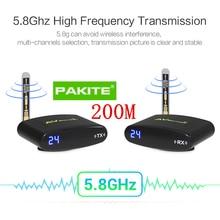 PAT-635 200M 5.8GHz 24CH AV CCTV Camera Video Transmitter Re