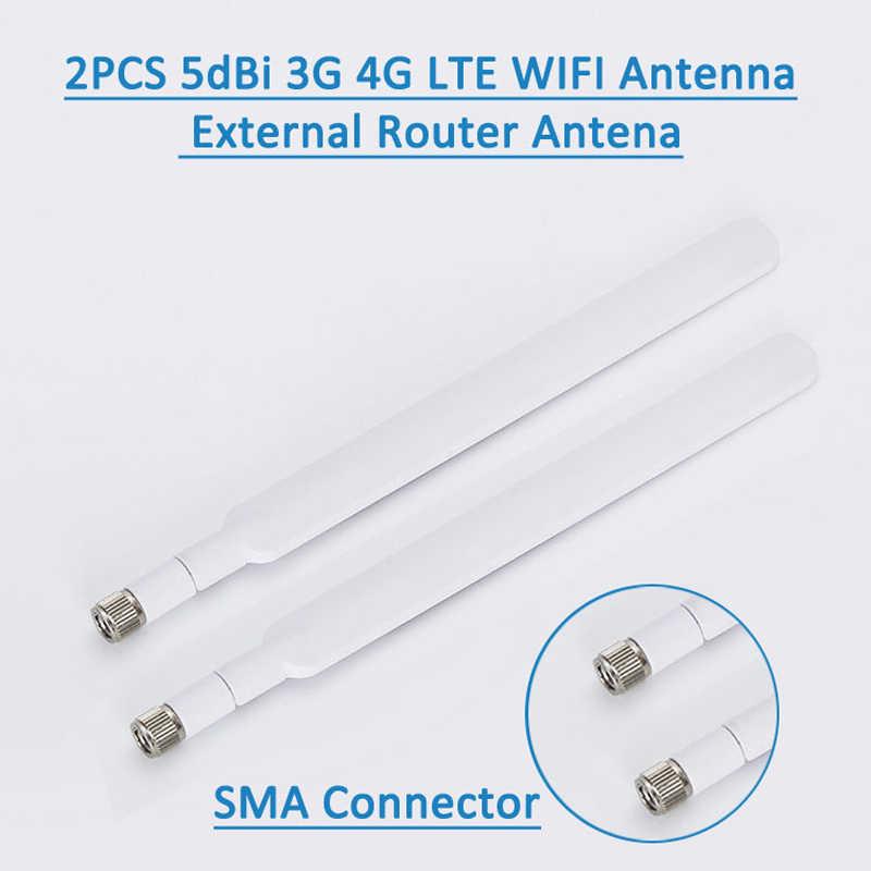 LEORY 2 adet/takım 4G Lte Anten SMA Erkek için 4G LTE Yönlendirici Harici Anten Huawei B593 E5186 HUAWEI B315 B310 698-2700 MHz