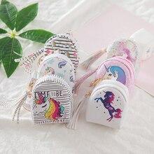 1 Pcs New Lovely Unicorn Children Purse Key Pack Unicorn Party Birthday Party Decorations Kids Baby