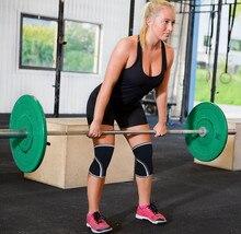 7mm  pink color for lady Hot Sale Neoprene Compression knee brace weightling