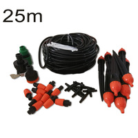 DIY 25m 30 Drippers Watering Flower Plant Gardening Hose Nozzles Accessory Lot