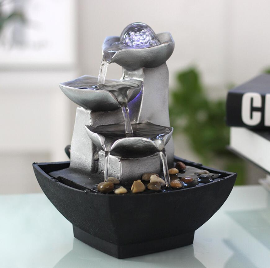 Water Fountains For Home Decor: Resin Water Fountains Indoor Decoration Creative Craft
