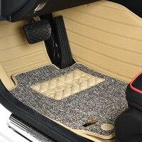 Myfmat пользовательские новые кожаные автомобильные аксессуары коврики для Suzuki Авто Swift Liana 2 седан Jimny grand vitara Wagon R X5