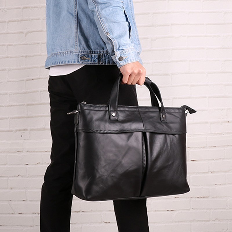 Nouvelle mode En Cuir Véritable D'affaires Porte-Documents Hommes sac à bandoulière sac à main sac à bandoulière pour homme sacs à main, sac à bandoulière Bolso Hombre