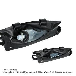 Image 4 - Rhinowalk אופניים מסגרת תיק 2.8L לכביש MTB מתקפל אופני אחסון כלי סלים משולש מסגרת תיק מלא עמיד למים