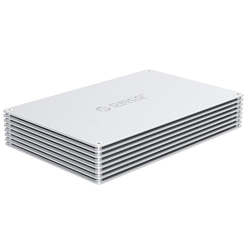 Orico 2.5 pouces bricolage Hdd type de boîtier-C Hdd boîtier Sata Interface boîtier haut débit boîtier de disque dur externe pour Samsung Seaga