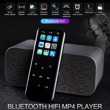 цена на 1.8 MP3 MP4 Player Bluetooth TF Card Recorder Pen Radio Audio MP4 Player 16GB 8GB FM Touch Screen HiFi MP4 HIFI Player