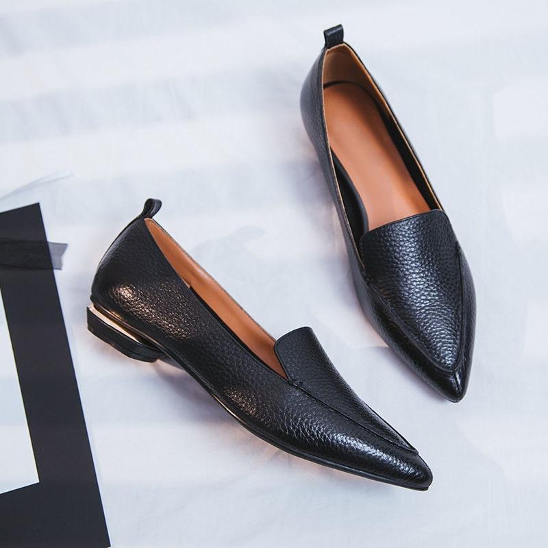 Slip Box Schuhe 2 Cm Frauen Kleid Ferse 2018 Sommer Pumpt Feste D202 Niedrigen Echtes Leder Neue Verpackung on Chunky Heels Schwarzgrau doCxBe