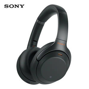SONY Wireless Bluetooth Headphones Noise-Canceling Handsfree-Call Over-Head Function