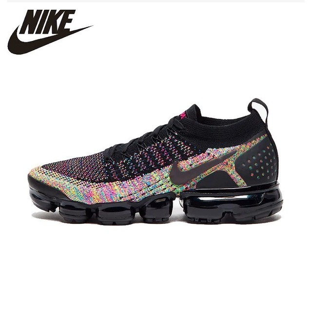 ac6f53203d0 Nike Air Vapormax Flyknite Knitting Women Running Shoes New Arrival Air  Cushion Breathable Sneakers  942843