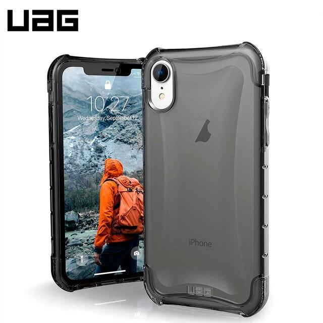 Защитный чехол UAG для iPhone XR серия Plyo цвет пепельный/111092113131/32/4, шт