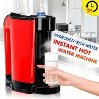 Newest 220V 3L Desktops Healthy Hydrogen Rich Water Dispenser Water Filter Household Instant Hot Water Heater lonizer Anti Aging