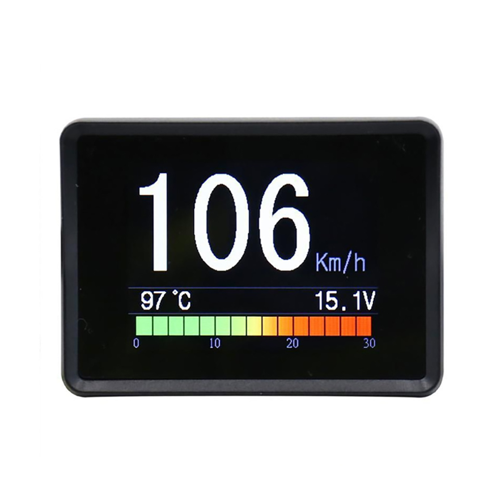 A203 OBD Speedometer Fuel Computer Display On Board Computer Car Digital Consumption Meter Temperature Gauge Diagnostic Tool