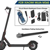 For XIAOMI MIJIA M365 Scooter original loading Pipe handlebars folding Vertical Rod parts accessories Scooter Skateboard Circuit