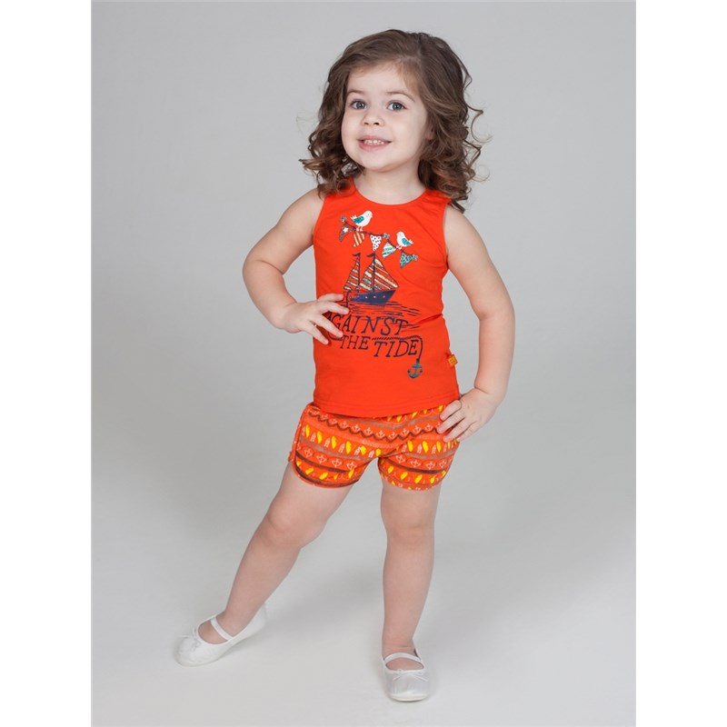 Shorts Sweet Berry Shorts knitted for girls children clothing girls frill trim top with shorts