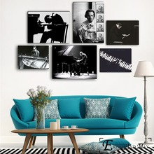 Bill Evans Music Vintage Poster Prints Oil Painting On Canvas Wall Art Murals Pictures For Living Room Decoration No Framed the bill evans trio bill evans trio waltz for debby