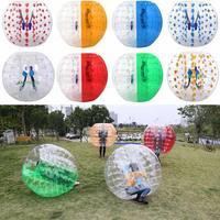 ANCHEER TPU Transparent Inflatable Bumper Ball Human Knocker Ball Bubble Soccer, 123/133cm Diameter