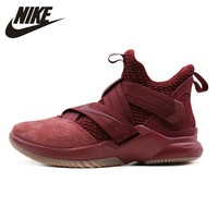 NIKE SOLDIER XII SFG EP Official Men's Basketball Shoes LBJ High Cut Wear Resistant Sneakers Breathable #AO4055