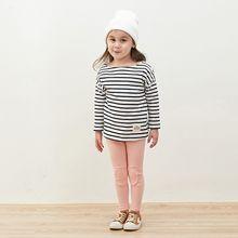 Aitxmm Детская одежда весенние мягкие приталенного силуэта для девочек Детская заплатка, леггинсы, длинные штаны(розовый, 120 см