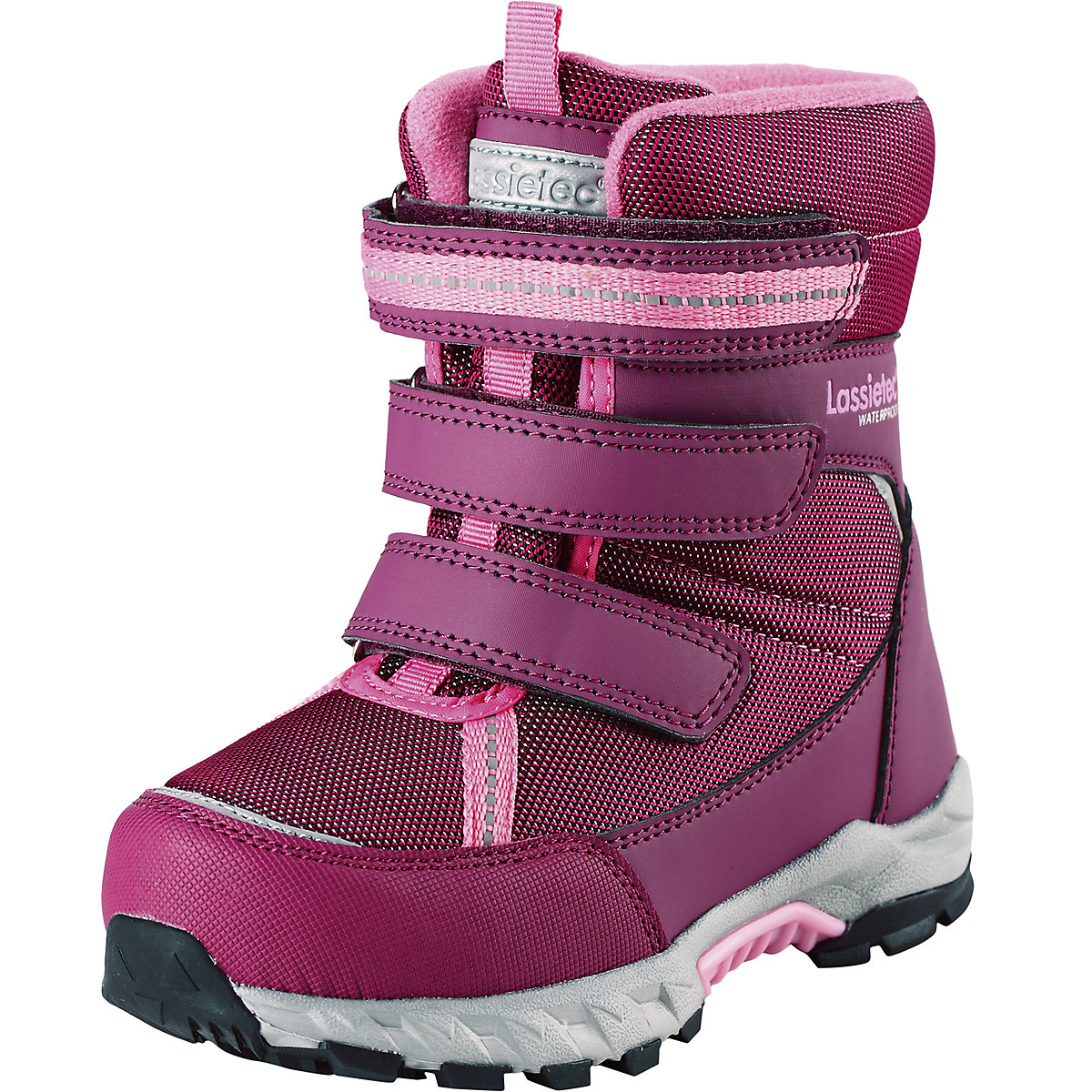 LASSIE Boots 8624783 For girls Warm Kids Baby shoes winter girl flamingo winter waterproof wool warm high quality kids shoes orthotic arch anti slip size 23 28 snow boots for girl 82m qk 0921