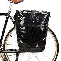 B-SOUL 방수 자전거 가방 mtb 도로 자전거 자전거 후면 랙 파니에 가방 사이클링 후면 좌석 가방 어깨 가방 자전거 액세서리 22l
