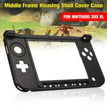 Housing Shell Cover Case Original Bottom Middle Frame Replacement Kits Console Cover For 3DS XL/LL Game Console Games Cases(China)