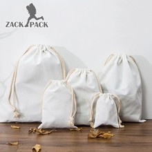The New Listing Bag men School Small Drawstring Pouch Backpack Storage Fabric Cotton Canvas Millimeter Size Mini Wallet KB