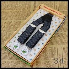 Fashion New 2015 Children Kids Boy Girls Clip-on Suspenders Elastic Adjustable Braces