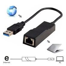 الجملة USB محول إيثرنت بطاقة الشبكة USB 3.0 إلى RJ45 Lan جيجابت الإنترنت للكمبيوتر للكمبيوتر ماك بوك كمبيوتر محمول Usb إيثرنت