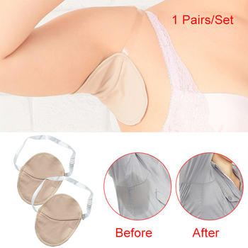 1 Pair Underarm Absorbing Sweat Shield Pad Washable Armpit Sweat Guards Shoulder 1
