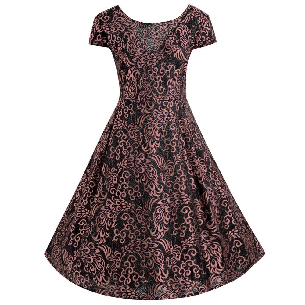 e13f3b4df8 Wipalo Women Summer Dress Cotton Pin Up Vintage Dress Retro 50s ...