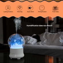 New Aromatherapy Humidifier Ultrasonic Air Humidifier Essential Oil Aroma Diffuser Mist Maker Fogger 100 Ml Mini Humid Eu Plug