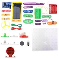 1000 in 1 38 Pieces Electronics Discovery Learning Kits DIY Physical Lab Basic Circuit Experiment Science Education Toy W 688