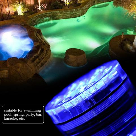 2Set LED Multi-color RGB Pool Light Waterproof Underwater Light Swiming Pool Lamp With Remote Controller Lahore